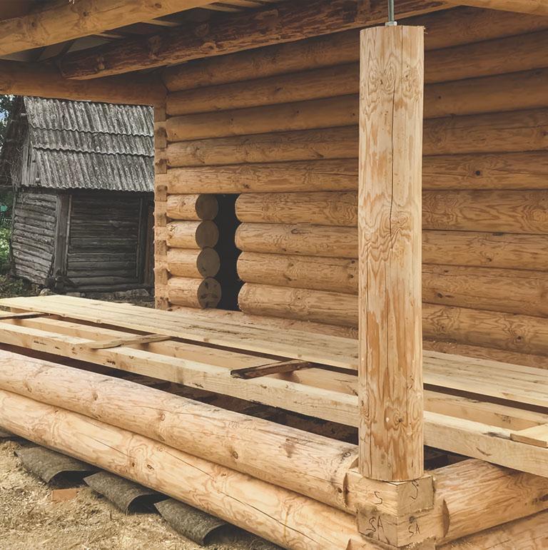 Drewniane elementy konstrukcyjne