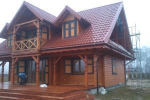 Drewniany dom jednorodzinny 11