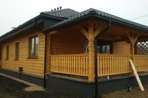 Drewniany dom jednorodzinny 13
