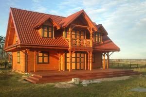 Drewniany dom jednorodzinny 14