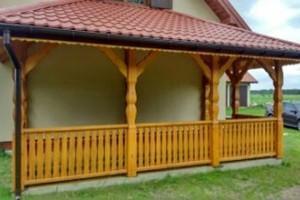 Drewniany dom jednorodzinny 16