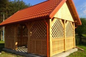 Drewniany dom jednorodzinny 18
