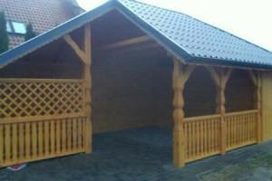 Drewniany dom jednorodzinny 2