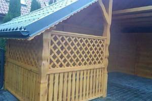 Drewniany dom jednorodzinny 21