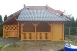 Drewniany dom jednorodzinny 22