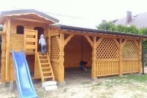 Drewniany dom jednorodzinny 23