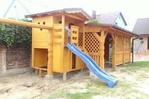 Drewniany dom jednorodzinny 26