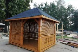 Drewniany dom jednorodzinny 28