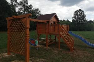 Drewniany dom jednorodzinny 29