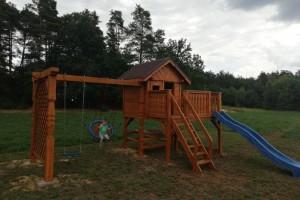 Drewniany dom jednorodzinny 30