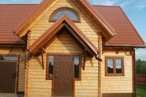 Drewniany dom jednorodzinny 37