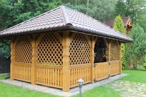 Drewniany dom jednorodzinny 38