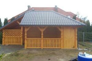 Drewniany dom jednorodzinny 40