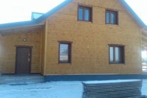 Drewniany dom jednorodzinny 45