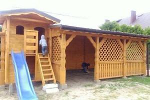 Drewniany dom jednorodzinny 5