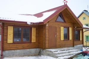 Drewniany dom jednorodzinny 6