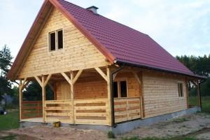 Drewniany dom jednorodzinny 7
