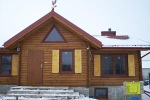 Drewniany dom jednorodzinny 8